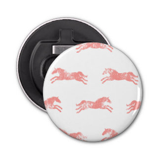 Girly Pink Classic Equestrian Horses