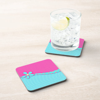 Girly Pink Drink Coaster