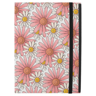"""Girly Pink Daisies and White Daisies iPad Pro 12.9"""" Case"""