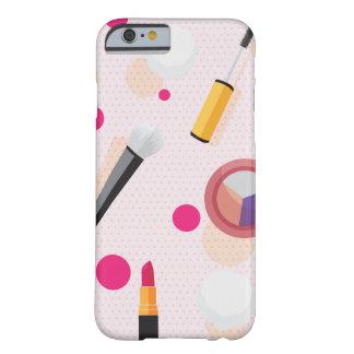 Girly pink dots makeup set iPhone 6/6s case