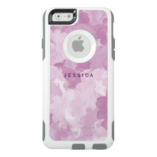 Girly Pink Floral Roses OtterBox Personalized OtterBox iPhone 6/6s Case