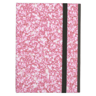 Girly Pink Glitter Printed iPad Air Case