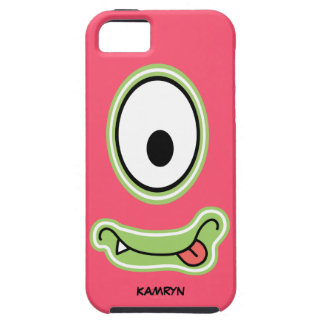 Girly Pink Googly Eye Funnyface iPhone 5 Cover