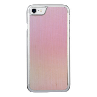 Girly Pink Gradient Carved iPhone 8/7 Case