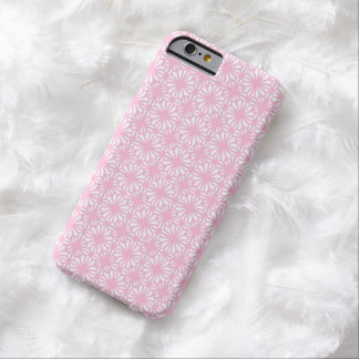 Girly Pink Lace Floral Pattern White iPhone 6 Case Barely There iPhone 6 Case