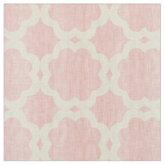 Girly pink moroccan fabric