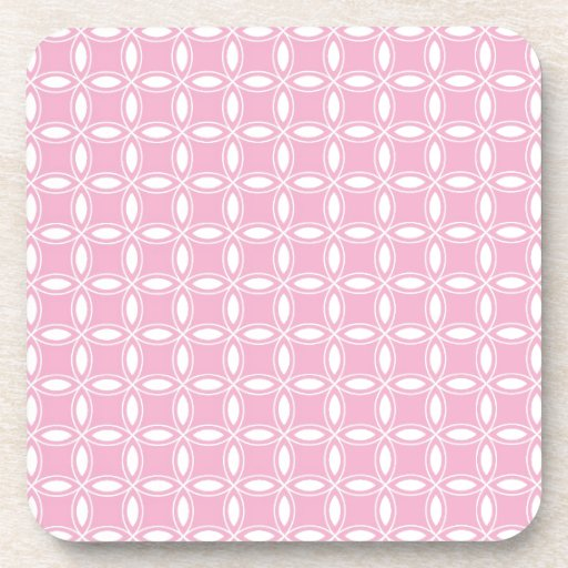 Girly Pink Pt 36 Coasters