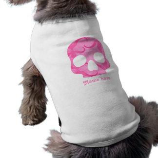 Girly pink skull shirt