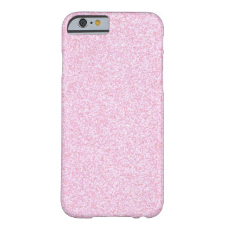 Girly Pink Sparkling Glitter Barely There iPhone 6 Case