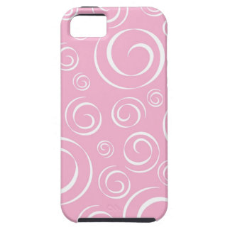 Girly Pink Swirl Pattern PT81 iPhone 5 Covers