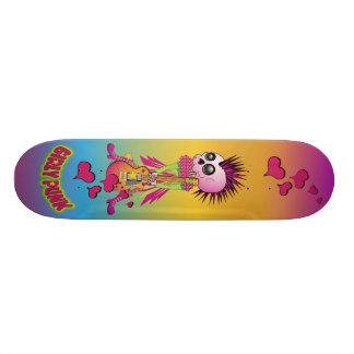 Girly Punk Rock 19.7 Cm Skateboard Deck