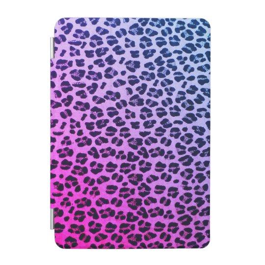 Girly Purple Leopard Print iPad Mini Smart Cover