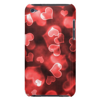 Girly Red Heart Barely There iPod Covers