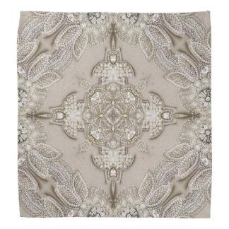 girly Rhinestone lace pearl glamorous Bandannas