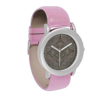 girly Rhinestone lace pearl glamorous Wristwatch