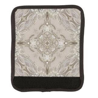 girly Rhinestone lace pearl glamorous Luggage Handle Wrap
