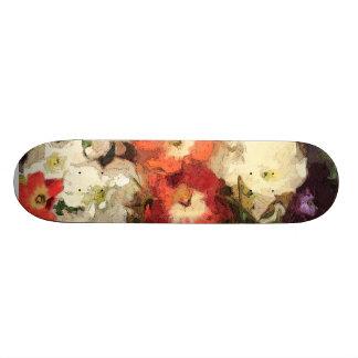 Girly Skateboard Deck by Margaret Aycock