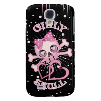 Girly Skull Galaxy S4 Case