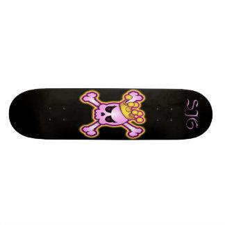 Girly Skull Skateboard