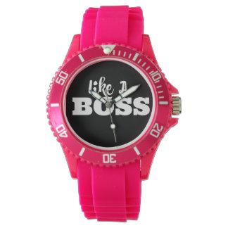 Girly Sporty Watch - Like A Boss