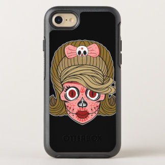 Girly Sugar Skull OtterBox Symmetry iPhone 8/7 Case