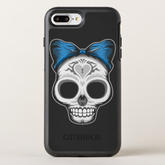 Girly Sugar Skull OtterBox Symmetry iPhone 8 Plus/7 Plus Case