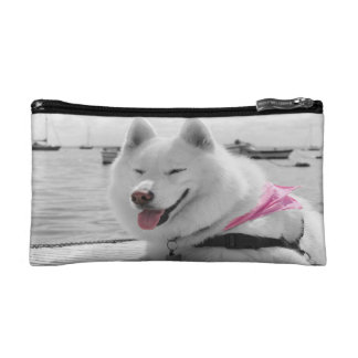 Girly Tehya on a small bag Cosmetic Bags
