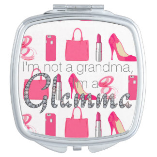 Girly things Glamma bling mirror