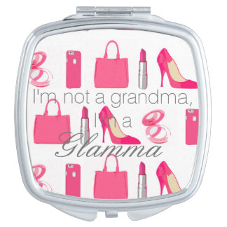 Girly things Glamma compact mirror
