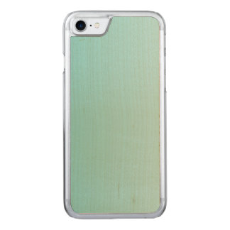 Girly Turquoise Gradient Carved iPhone 8/7 Case