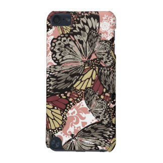 Girly Vintage Butterflies Floral Pattern iPod Touch 5G Covers