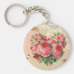 Girly Vintage Rose Heart Collage