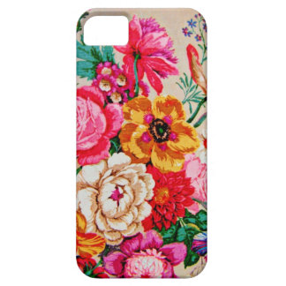 Girly Vintage Spring Flowers iPhone 5 Cover