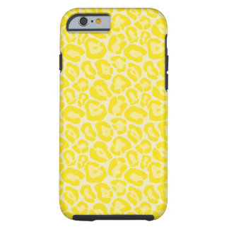 Girly Yellow Leopard Pattern iPhone 6 case Tough iPhone 6 Case