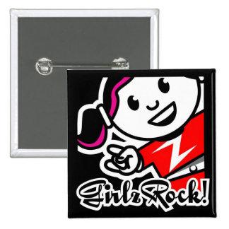 GirlzRock! Button