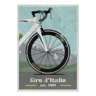 GIRO D ITALIA BIKE PRINT
