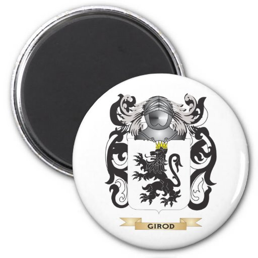 Girod Coat of Arms (Family Crest) Refrigerator Magnets