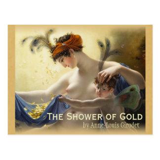 Girodet Shower of Gold CC0680 Postcard