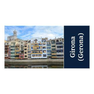 Girona (Gerona) Photo Card