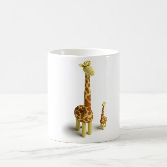 Girrafe And baby Giraffe Coffee Mug