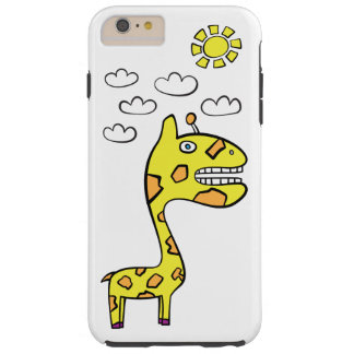 Girraffey the Giraffe - iPhone 6/6s Plus Tough Tough iPhone 6 Plus Case