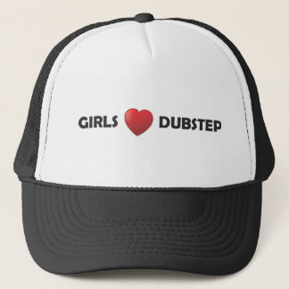 Girsl Heart Dubstep Trucker Hat