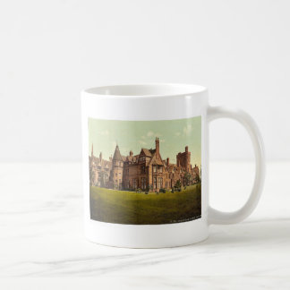 Girton College, Cambridge, England vintage Photoch Coffee Mug
