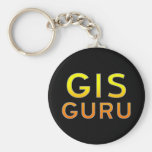 GIS Guru Keychain