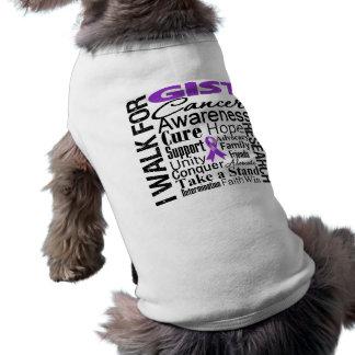 GIST Cancer Awareness Walk Sleeveless Dog Shirt