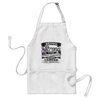 GIST Cancer Strong is The Only Choice Adult Apron