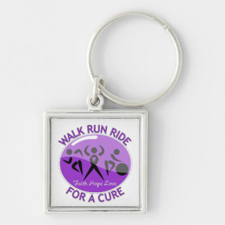 GIST Cancer Walk Run Ride For A Cure Keychain