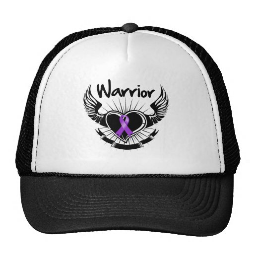 GIST Cancer Warrior Fighter Wings Hat