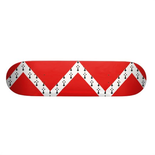 Gistel, Belgium flag 21.6 Cm Old School Skateboard Deck