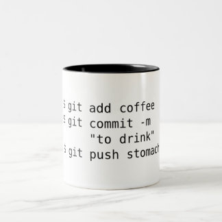Git Add Coffee Mug